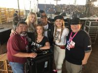 Runaway June & Jimmie Allen Take The Stage In Texas