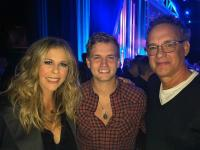 Levi Hummon Hangs With Rita Wilson, Tom Hanks At The Opry