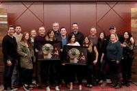 Maren Morris Celebrates First-Career #1 With Sony Music Nashville Team