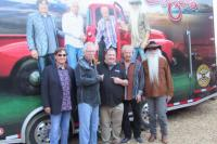 The Oak Ridge Boys Hang With KNEI/Waukon, IA