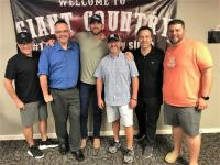 Riley Green Stops By WGSQ/Cookeville, TN