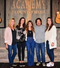 Tenille Townes Visits Academy Of Country Music