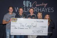 Walker Hayes, KRTY/San Jose Support Be A Craig Fund