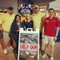WYCT/Pensacola Assists Local Hurricane Victims
