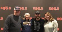 Aaron Goodvin Visits KWEN/Tulsa