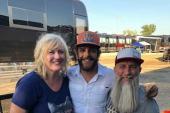 Thomas Rhett Poses With WHKO/Dayton, OH
