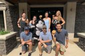 BMLG Celebrates Grandpas And Bagels