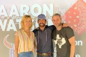 Aaron Watson Celebrates Album Release in Houston