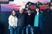 Aaron Goodvin Spends Time With WLHK/Indianapolis