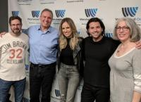 Haley & Michaels Visit Westwood One