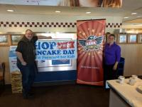 KTHK/Idaho Falls, ID Celebrates Pancake Day
