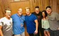Rascal Flatts Hang With KEEY/Minneapolis