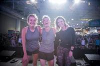 Amy Brown And Carly Pearce Get Physical With Erin Oprea