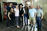 Brooks & Dunn Pose With Industry Friends At CMA Fest