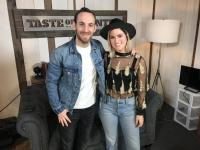 Cassadee Pope Swings By 'Taste Of Country Nights'