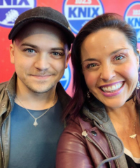 Hunter Hayes Spends Time With KNIX/Phoenix