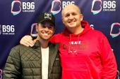 B96 Chicago Welcomes Jake Miller