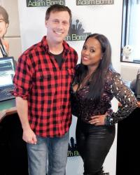 Keshia Knight Pulliam Visits The Adam Bomb Show